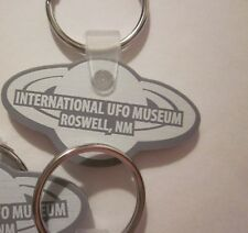 "ROSWELL ""1"" KEY CHAIN INTERNATIONAL UFO MUSEUM 1947 UFO ALIEN SOUVENIRS #43"