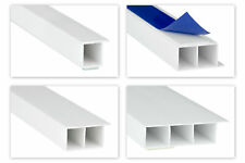 2m PVC Hohlkammerleisten Bandiera Deckleisten Barre Finestrino Adesivo 15mm Hj