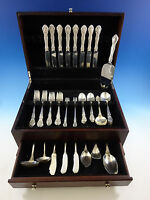 King Edward by Gorham Sterling Silver Flatware Set For 8 Service 63 Pieces