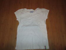 Tee-shirt uni blanc,MC,T10ans,marque NKY,Neuf!