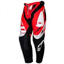 "PI04390BFLU/50 PANTALONE CROSS ENDURO UFO REVOLUTION ""MADE IN ITALY"" ROSSA TAGLI"