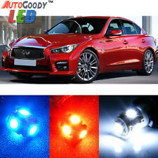 13 x Premium Xenon White LED Lights Interior Package Kit for Infiniti Q50 Q60