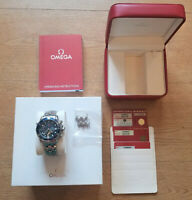 OMEGA SEAMASTER CHRONOGRAPH 41.5 MM AUTOMATIC WRISTWATCH 2599.80 CASE & PAPERS