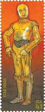 2007 C-3PO Droid 30th Anniversary Star Wars IV Commemorative US Stamp MINT NH!