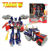 Dark of the Moon Transformers 3 Autobots Optimus Prime Action Figures Toy Boxed