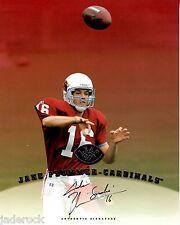 "Jake ""Snake"" Plummer 1997 Leaf Signature Series Rookie 8 x10 Autograph RC AUTO"