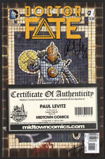 Doctor Fate #1 SIGNED by Paul Levitz COA NM DC Dr. new unread