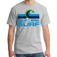 California Surf DEFUNCT NASL Soccer Football Tee T-Shirt Handmade Team Sports