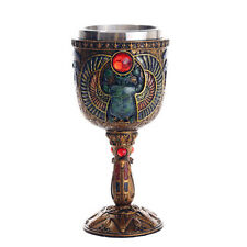 Scarab Egyptian Chalice Wiccan Pagan Witchcraft Altar Supply 11867