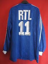Maillot porté Coupe de France Bleu n°11 RTL match worn Porté - XL