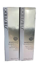 Shiseido Wrinkle Resist 24 Day and Night Emulsion Set Discontinued and Sold out