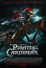 Pirates of the Caribbean - Curse of the Black Pearl - A3 Film Poster-FREE UK P&P