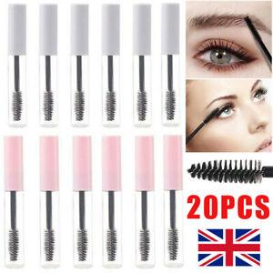 5/10/20PCS 10ml Empty Mascara Tube Wand Eyelash Cream Bottle Clear Tool