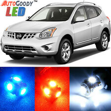 11 x Premium Xenon White LED Lights Interior Package Kit for Nissan Rogue + Tool