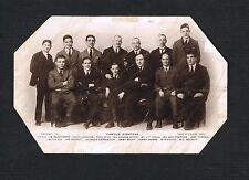 RARE FAMOUS BOXERS boxing postcard George Carpentier Tommy Burns Wilde Corri