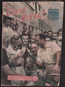 AUTOMOBILISMO-RIVISTA-COCHE A LA VISTA!-N°37 AGOSTO 1950-RARA RIVISTA ARGENTINA