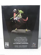 Star Wars Clone Wars Yoda on Kybuck Maquette Limited - Gentle Giant