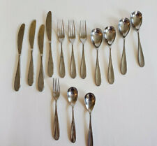 New listing Rw Robert Welch Lot of 14 Pieces Stanton Mirror(?) Flatware Stainless Silverware