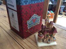 V Rare Disney Tradition 'beauty/beasts Enchanted Kingdom Hanging Castle Xmas Dec