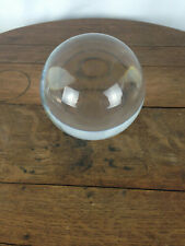 Baccarat Sirius Clear Crystal Ball Orb Sphere w/ Original Stand  #WH-7