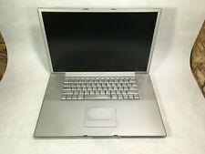 "Apple PowerBook G4 17"" 2005 A1107 PowerPC G4 1.67GHz 1GB RAM - PARTS -RR"