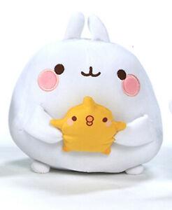 Molang Friends White Star Rabbit Soft Plush Bean Toy Kids Piu Piu Baigo Kawaii