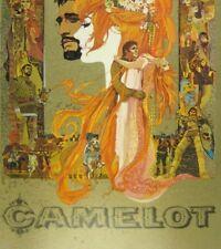 Camelot Movie Souvenir Program 1967 Warner Bros Richard Harris Vanessa Redgrave