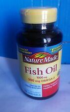 NATURE MADE FISH OIL 1000MG 300MG  90 SOFTGELS