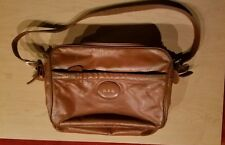 dunhill of London leather 3 document Boston briefcase bag very nice vintage