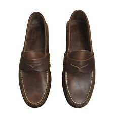 Rancourt and Co. for Brook Brothers Brown New Penny Loafers Size 8