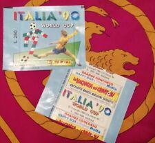 Bustina sigillata Panini ITALIA 90 - L. 250 Italian / MOTTA version - WC WM 1990