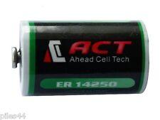 1 Pile Lithium 3.6V 1/2AA ER14250 LS14250 ER14250H Li-socl2 1200Mah Battery ACT