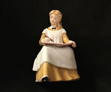"Vintage ""Amy"" From Little Women - Tasha Tudor Franklin Porcelain Figurine Statue"
