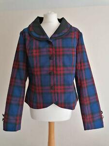 NEW Joe Browns Check Jacket UK 16