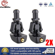 2X Windshield Wiper Washer Fluid Nozzle Jet For 3W7Z17603AA Ford F150 2004-2014