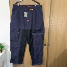 VTG FUBU EXTREME SPORTS Baggy Nylon Pants Navy Blue Size 3XL New With Tag