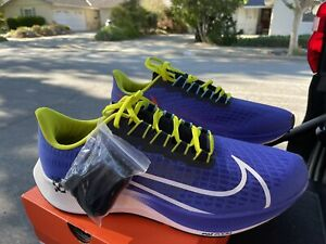 Nike Air Zoom Pegasus 37 A.I.R Chaz Bear Rush Violet Men's Size 13 [CZ2343-500]