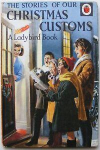 Vintage Ladybird Book – Christmas Customs – Customs Series 644 – Good Condition