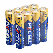 8pcs AAA Alkaline Battery 1.5V R03P UM4 Single use Batteries ,PKCELL