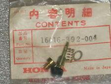 1975-1976 Honda CB750F CB 750 Four Super Sport Carburetor Screw Set A OEM NOS