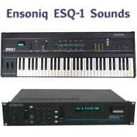 Most Sounds: Ensoniq ESQ-1, ESQ-M, SQ-80