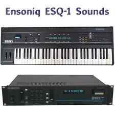 Ensoniq ESQ-1, ESQ-M, SQ-80- Largest Sound Collection