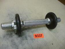9337. Alte Hantel mit Gewichten Hantel Stange Gewicht 3,2 kg
