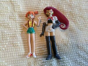 Pokémon Misty and Jessie Pokémon PVC Figures