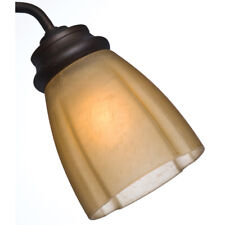 Casablanca 4.625-in H 4.625-in W Toffee Tinted Glass Ceiling Fan Light Shade