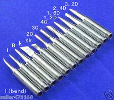 12pcs Soldering Tip Iron Tips 900M-T for Hakko936/937/928 Soldering Station tool