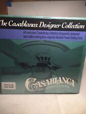 161111D Casablanca Lady Delta Ceiling Snow White Fan, New In Box (No Blades)