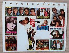 BRAVO Sticker 1985 Nena Madonna Modern Talking Sylvester Stallone Rambo Otto !!!