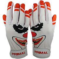 "Primal Baseball's Adult Baseball Batting Gloves ""Crazy"" Size Large"