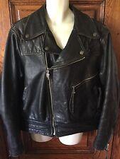 Vintage Genuine HARLEY-DAVIDSON Leather JACKET, CHAPS & Fingerless GLOVES